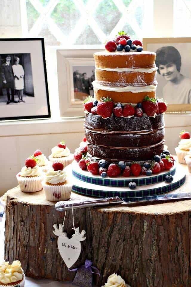 A wedding cake fit for a....Coeliac!