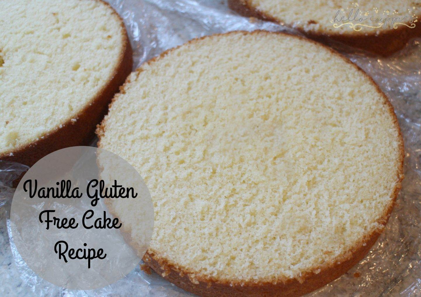Gluten Free Cake Recipe Baking Tips Vanilla gluten free cake recipe