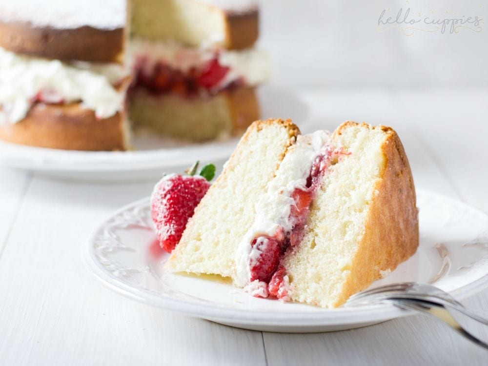 Gluten Free Cake Recipe & Baking Tips