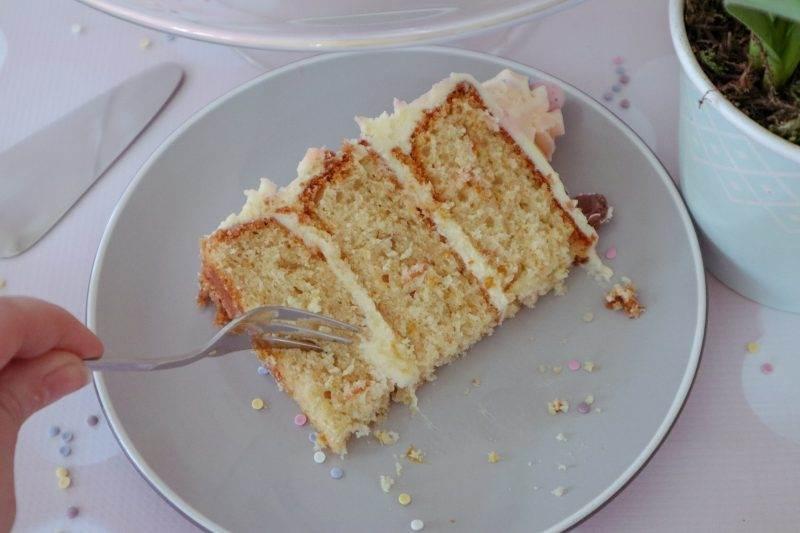 Orange Drizzle Easter Cake
